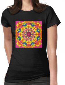 Pyrty Bloom Womens Fitted T-Shirt
