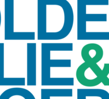 The Catcher in the Rye - The Caulfields, Blue/Green Sticker