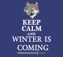 Keep Calm and Winter is Coming by best-designs