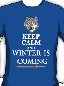 Keep Calm and Winter is Coming T-Shirt