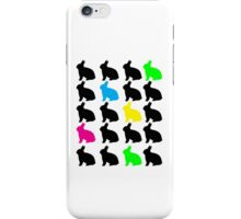 Colorful Bunnies Case iPhone Case/Skin