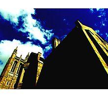 Yellow Gothic Photographic Print