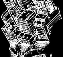 Headscape (black) by Shindy Samosa