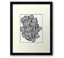 Cube Type of Life Framed Print