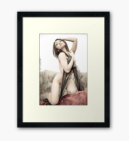 seduce you Framed Print