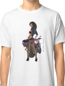 Want To Ride sticker Classic T-Shirt