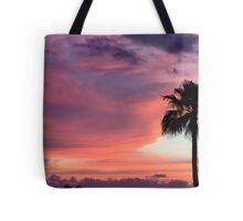 Sunset in Los Gigantes Tote Bag