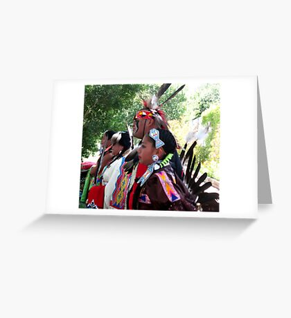 Native Americans Greeting Card