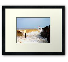 Who Said Size Doesn't Matter? Framed Print