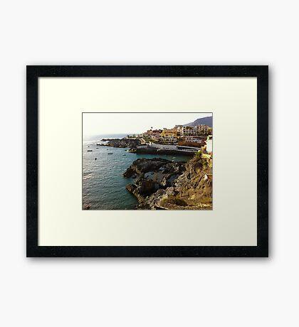 Puerto Santiago, Tenerife Framed Print