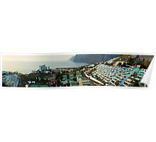 Panoramic of Los Gigantes Poster