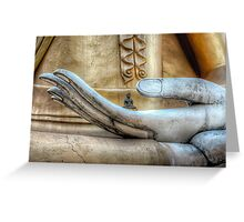 Hand of Buddha Greeting Card