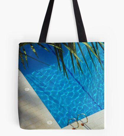 An inviting pool Tote Bag