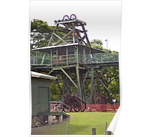 Gympie's Old Gold Mine Poster