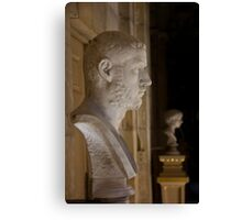 Bust at Castle Howard Canvas Print