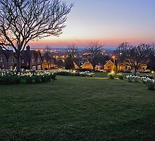 Prospect Square Westbury long exposure night view by Christopher Rafferty