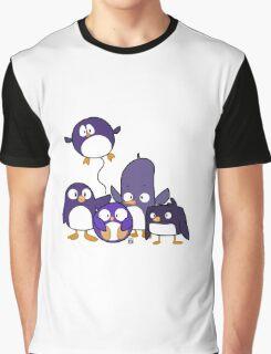 Penguin Parade Graphic T-Shirt