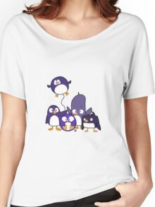 Penguin Parade Women's Relaxed Fit T-Shirt