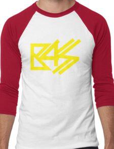 BASS (yellow) Men's Baseball ¾ T-Shirt