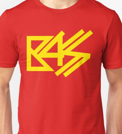 BASS (yellow) Unisex T-Shirt