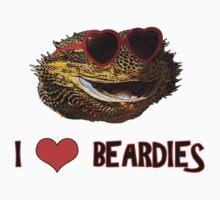 I Love Beardies! Kids Clothes