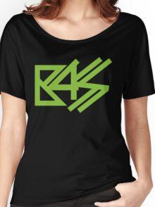 BASS (neon green)  Women's Relaxed Fit T-Shirt