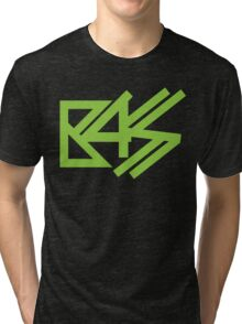 BASS (neon green)  Tri-blend T-Shirt