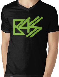 BASS (neon green)  Mens V-Neck T-Shirt