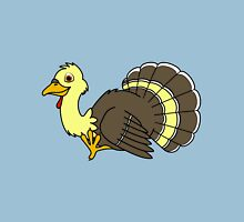 Thanksgiving Turkey with Light Yellow Feathers Unisex T-Shirt