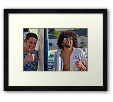 Thumbs Up :) Framed Print