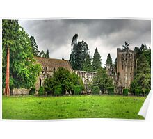 The Cathedral at Dunkeld Poster