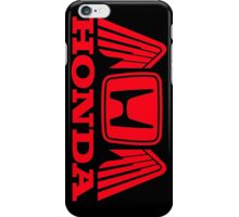 Honda Emblem with Wings iPhone Case/Skin