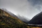 Storm Rolling at at Mount Cook / Aoraki National Park (2) by Christine Smith