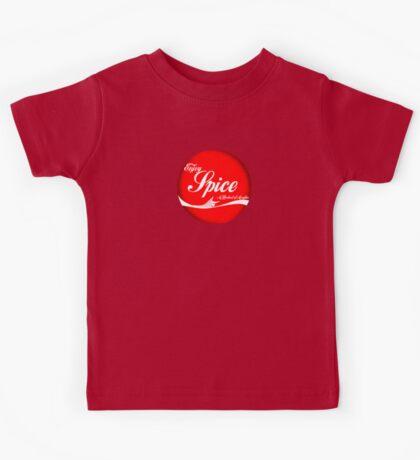 Spice (button/sticker) Kids Tee