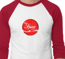 Spice (button/sticker) Men's Baseball ¾ T-Shirt