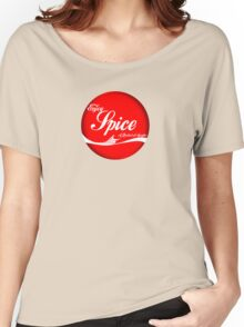 Spice (button/sticker) Women's Relaxed Fit T-Shirt