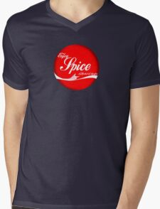 Spice (button/sticker) Mens V-Neck T-Shirt