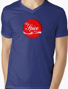 Spice (button/sticker) Mens V-Neck T-Shirt