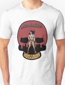 Lightning Squadron Deathshead (Katie Galaxy) T-Shirt
