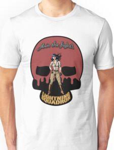 Lightning Squadron Deathshead (Katie Galaxy) Unisex T-Shirt