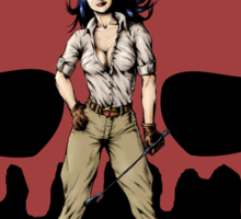 Lightning Squadron Deathshead (Katie Galaxy) Sticker