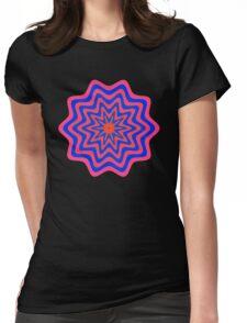 Starburst Shape 3 Womens Fitted T-Shirt