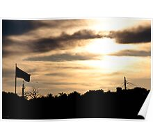 Sunset on the Seacoast Poster