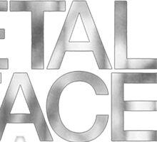 MF Doom - The Metal Face Sticker