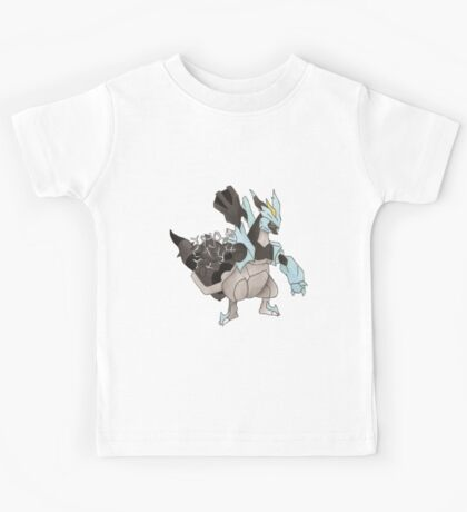 Black Kyurem Watercolour Kids Tee