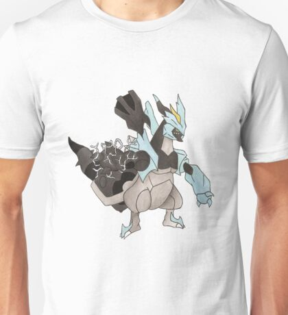 Black Kyurem Watercolour T-Shirt