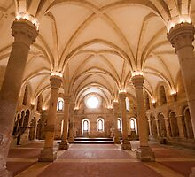 refectory. Alcobaça Monastery by terezadelpilar~ art & architecture
