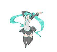Hatsune Miku - Happy Jump Photographic Print
