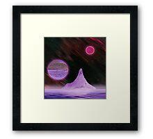 Ultra Purple Framed Print