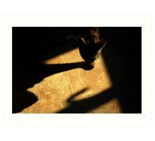 Shadow Stalker Art Print